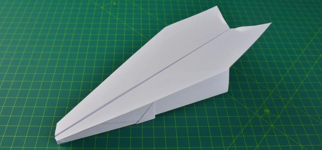 Make a Nakamura Lock Paper Plane | BEST Paper Plane in the World