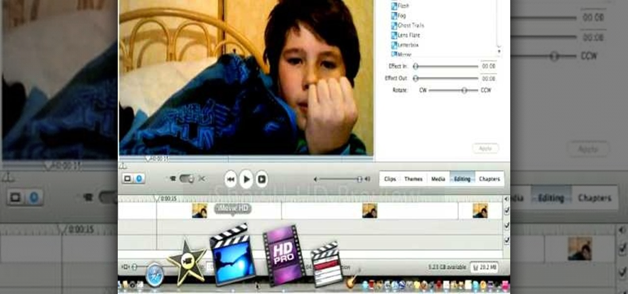 How to Create a flashing lightning effect in Apple iMovie « iMovie