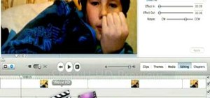Create a flashing lightning effect in Apple iMovie