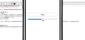 Implement a Volume Slider in an iPhone, iPad or iPod Touch app