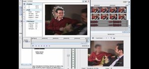 Blur out someone's face with masks and keyframing in Sony Vegas
