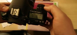Set up the presets on your Canon 7D for filming video
