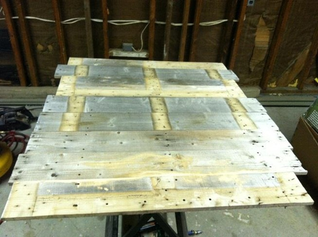 Perfect How to Make Wood Pallet Coffee Table 654 x 488 · 67 kB · jpeg