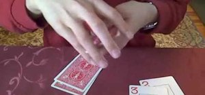 "Perform the ""devil's elevator"" card trick"