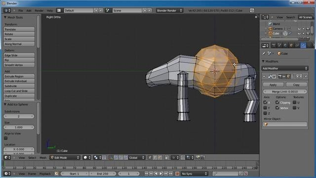 Create a 3D claymation scene in Blender 2.5 - Part 1 of 2