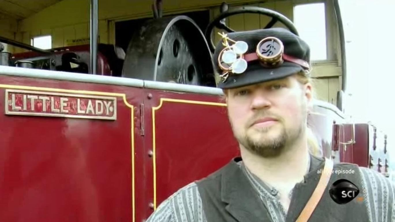 Steampunk R&D Podcast 06: Thomas Willeford Behind the Scenes of Steampunk Reality Television