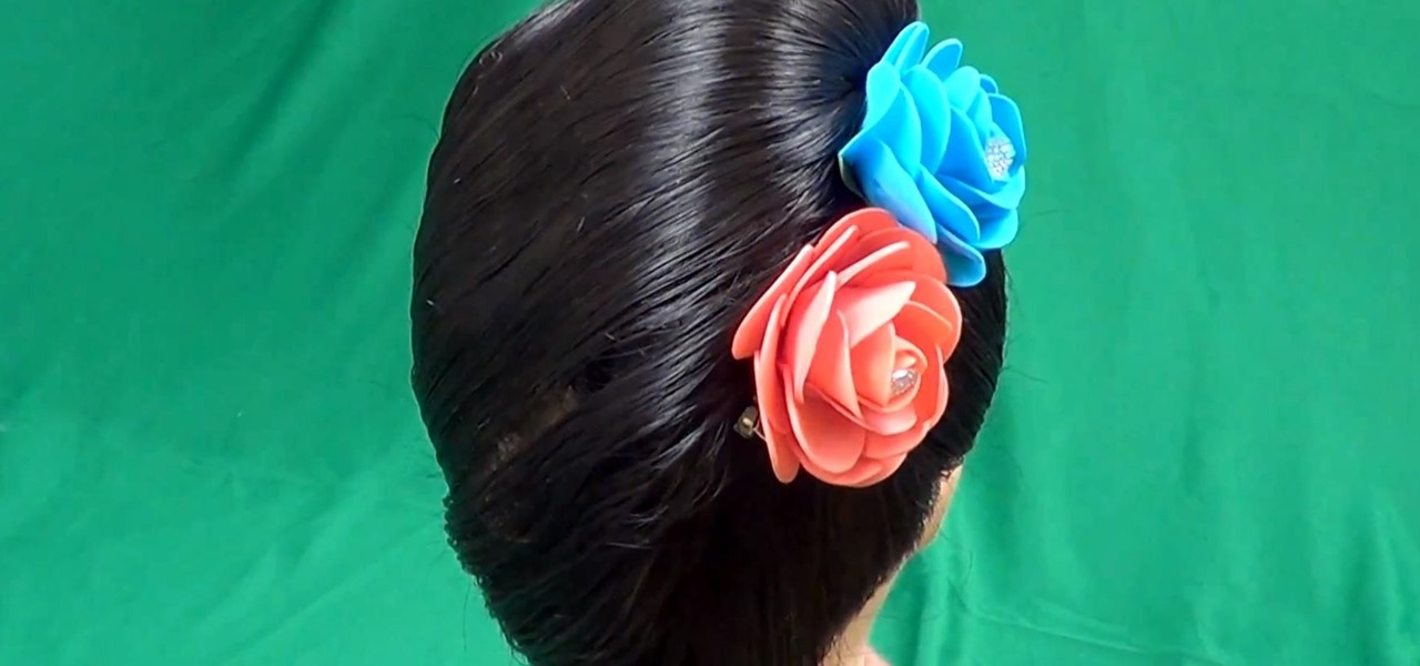 Make a French Knot Hairstyle the Easy Way