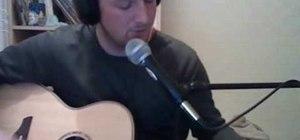 "Play ""Real Love"" by John Lennon / Beatles on guitar"