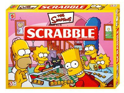 The Simpsons Family Gets Scrabbled!