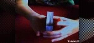 False shuffle cards