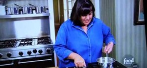 Make a lemon cake with the Barefoot Contessa