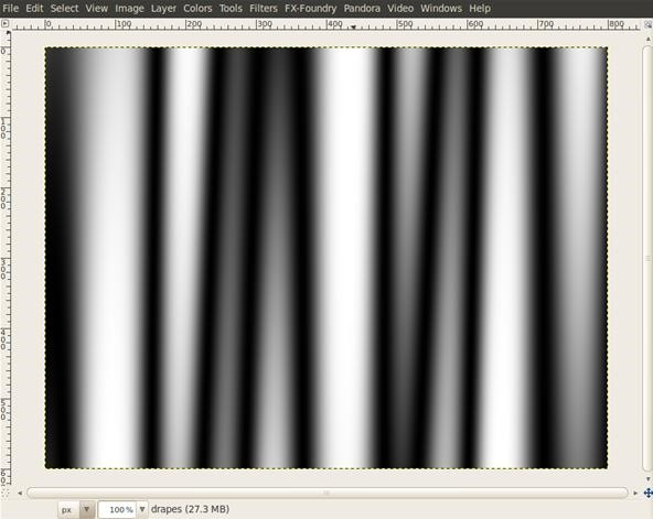 How to Create A Nice Curtain In GIMP
