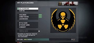 Make a radioactive Grim Reaper playercard emblem in Call of Duty: Black Ops