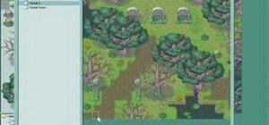 Create a teleportation event in RPG Maker XP (RMXP)