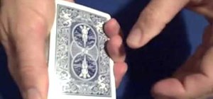Perform a cool variation of a beginner's card trick