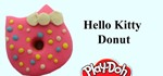 How to Make Playdoh Hello Kitty Donuts with Play-Doh