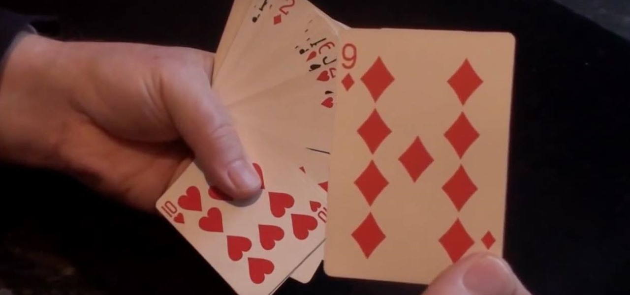 Do the Crazy Card Bend Magic Trick