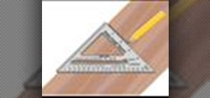 Use a rafter-angle square