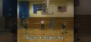 Use the step away pivot move in basketball