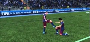 Perform various celebrations after a goal in FIFA 11 on the PlayStation 3