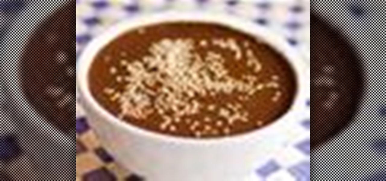 How to Make mole poblano sauce « Sauces & Dips