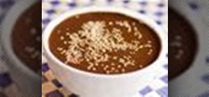 Make mole poblano sauce