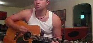 """Play """"Free Falling"""" by Tom Petty on acoustic guitar"""