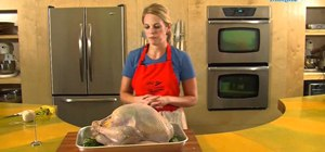 Roast a turkey step by step for Thanksgiving