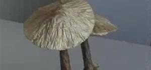make origami mushrooms