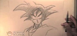Draw Goku from DragonBall Z