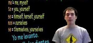 Use the entes de and después de verbs in Spanish