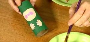 Makea wee leprechaun craft project