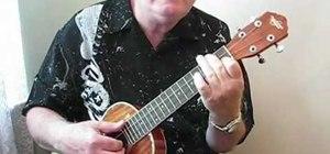 "Play ""White Sandy Beach"" by Willie Dan on the ukulele"
