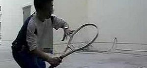 Fix your volley in tennis