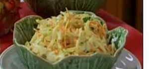 Make Creamy Cole Slaw with Hubert Keller