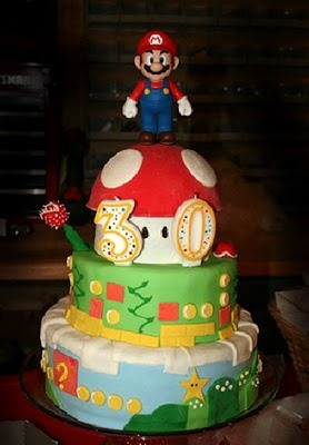 50 Coolest Mario Cakes Ever
