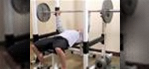Benchpress with powerlifting bands
