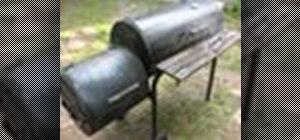 Use a barbecue smoker