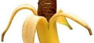 a shi**y banana