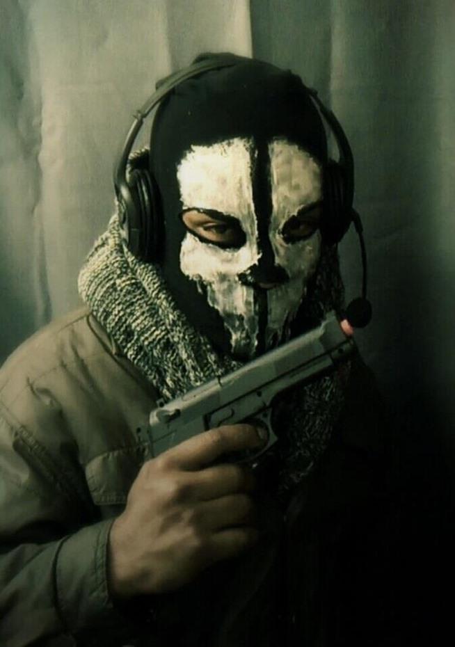 "DIY Call of Duty ""Ghosts"" Skull Mask: Halloween ..."