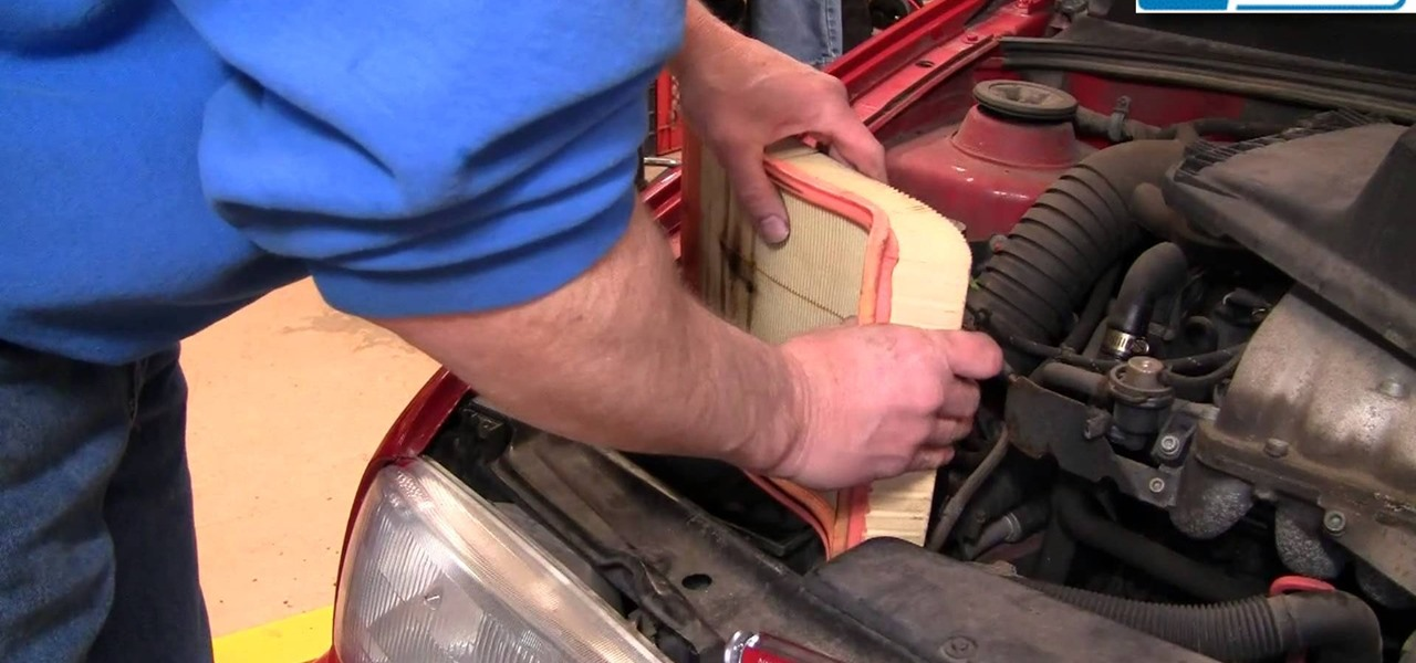 Replace the Engine Air Filter on a 93-98 Volkswagen Jetta 2.0L