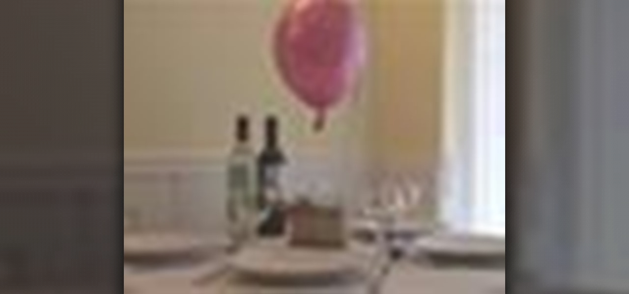 How to Make a DIY hot air balloon table centerpiece « Table Preparation