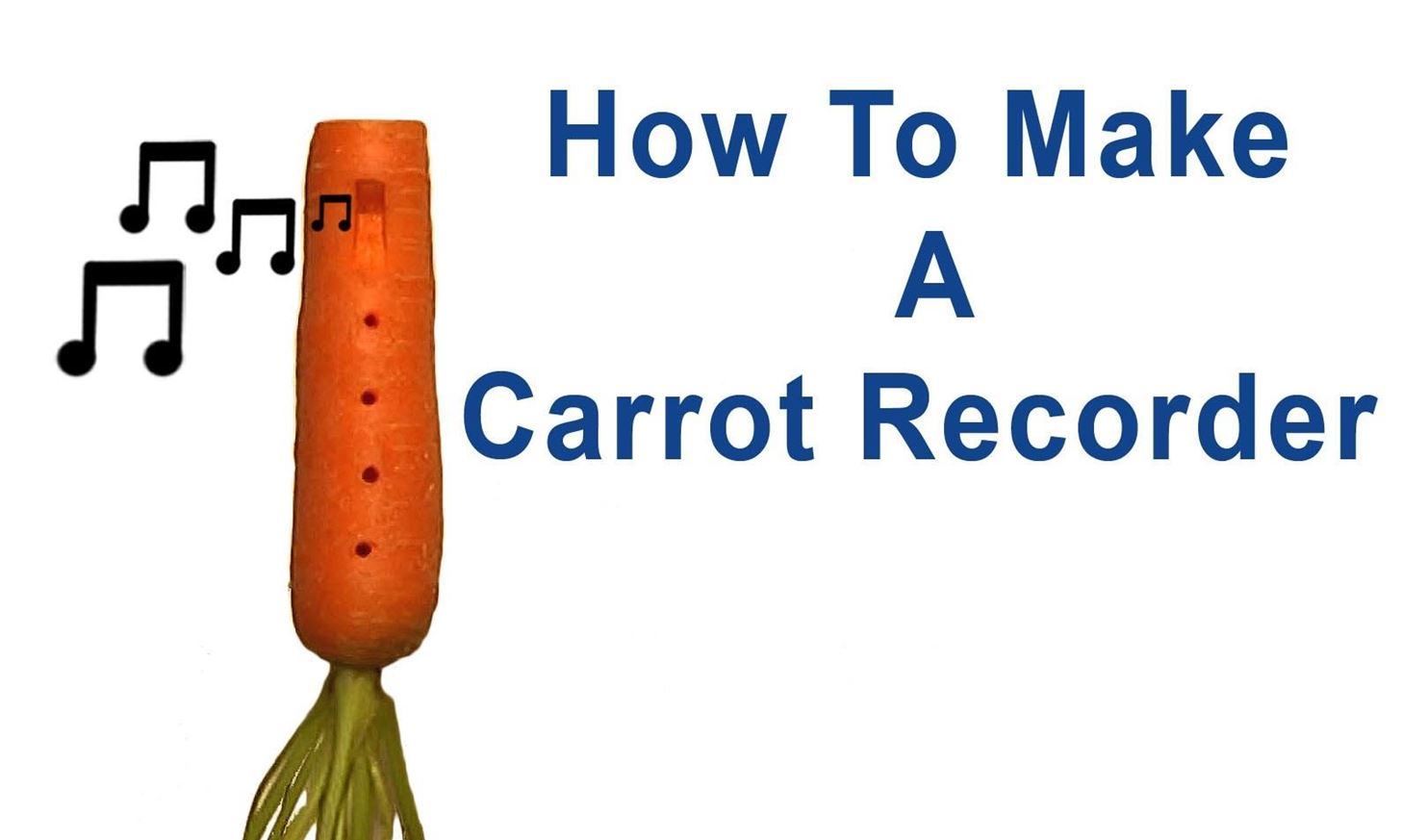 How to Make a Carrot Recorder