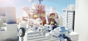 Nice LEGO Animation done for Italsoft