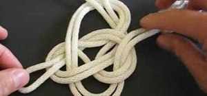 Tie the spiral knot