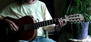 "Play Beethoven's ""Für Elise"" on the acoustic guitar"
