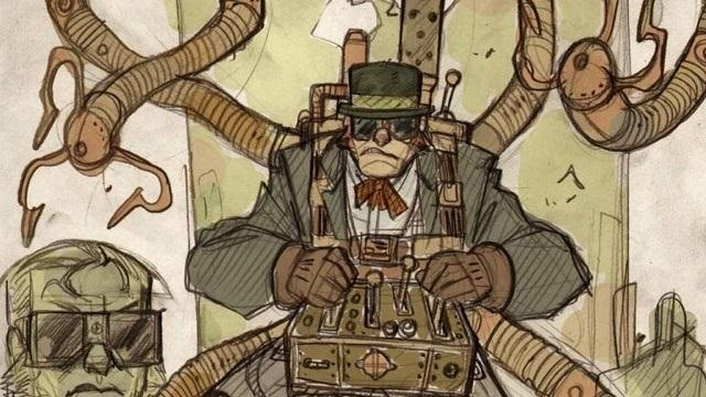 Steampunk Spider-Man and Villains