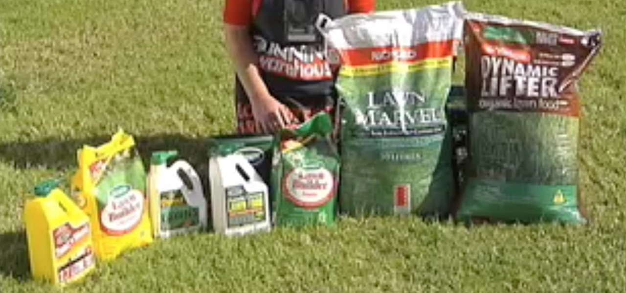 Choose the Right Fertilizer for Your Lawn