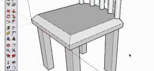 Create a chair in Google SketchUp